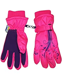 N'Ice Caps Girls Thinsulate and Waterproof Winter Gloves...