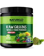 NATURELO Raw Greens Superfood Powder