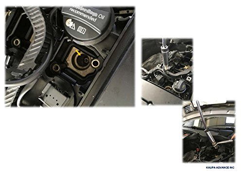 3/8'' Drive Magnetic 3pcs Swivel Spark Plug Socket Set, 5/8-Inch, Magnetic Universal Spark Plug Service Kit, 3 Piece - 4'', 6'' & 11'' Length-by Kauplus by Kaupa (Image #2)