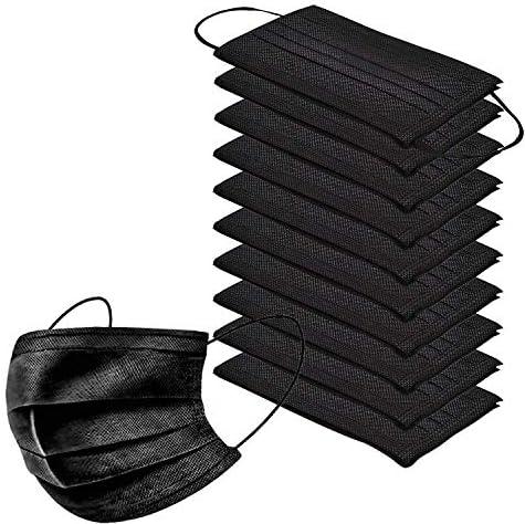 10pcs-pack-black-disposable-face