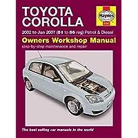 Toyota Corolla: (02 - Jan 07) 51 to 56
