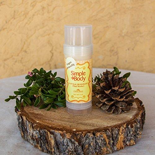 Citrus Burst Stick Deodorant by Simple Body