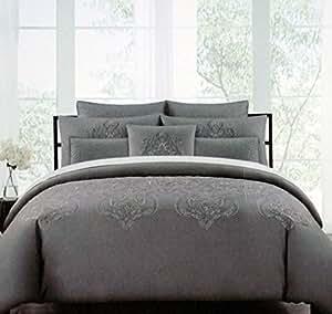 Amazon.com: Tahari Bedding 3 Piece King Duvet Cover Set