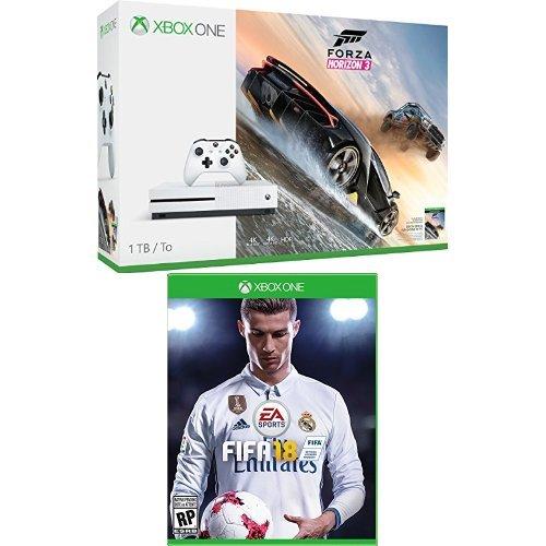 Xbox-One-S-1TB-Console-Forza-Horizon-3-Bundle-Fifa-18-Bundle