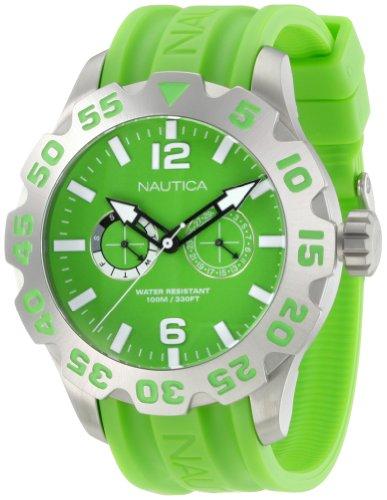 Nautica Men's N16605G Bfd 100 Multi Watch