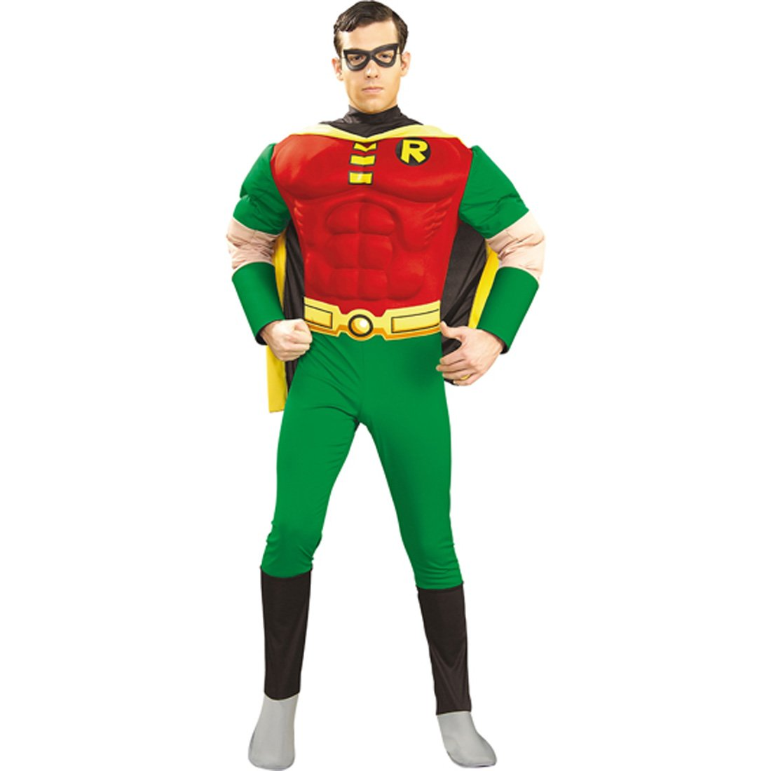 Robin Kostüm L 52/54 Robinkostüm aus der Batman Reihe Superhelden Outfit Verkleidung Herren Männer Karneval