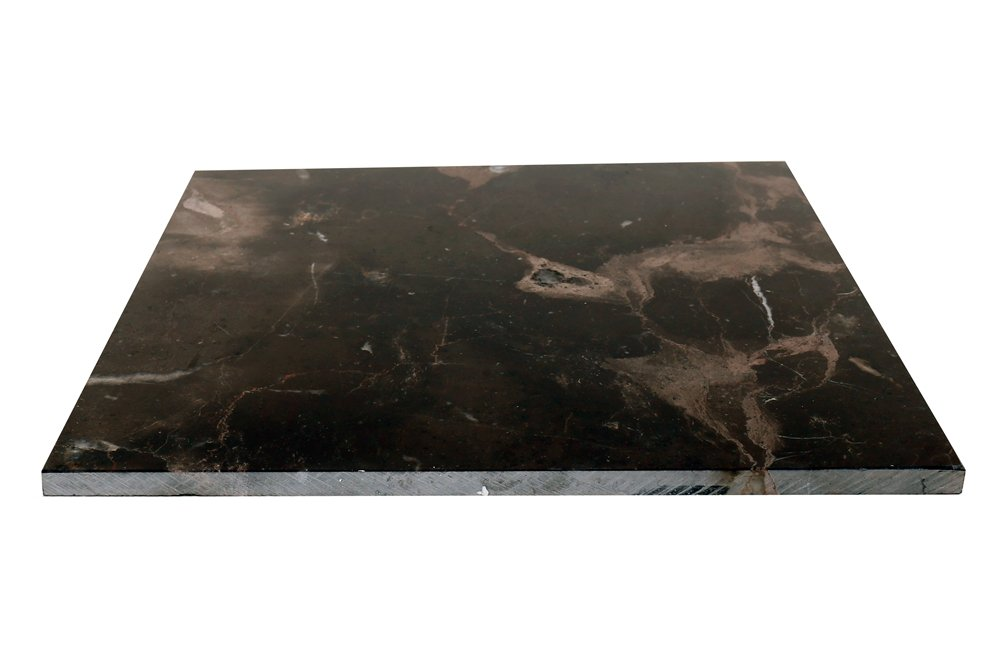 Marble Tile,Natural Polished Stones Chinese Dark Emperador Marble Tile Marble Decor Marble Slab (12x12 Inch-5Pcs per Case,5SQF) by Deluxe Stone (Image #3)
