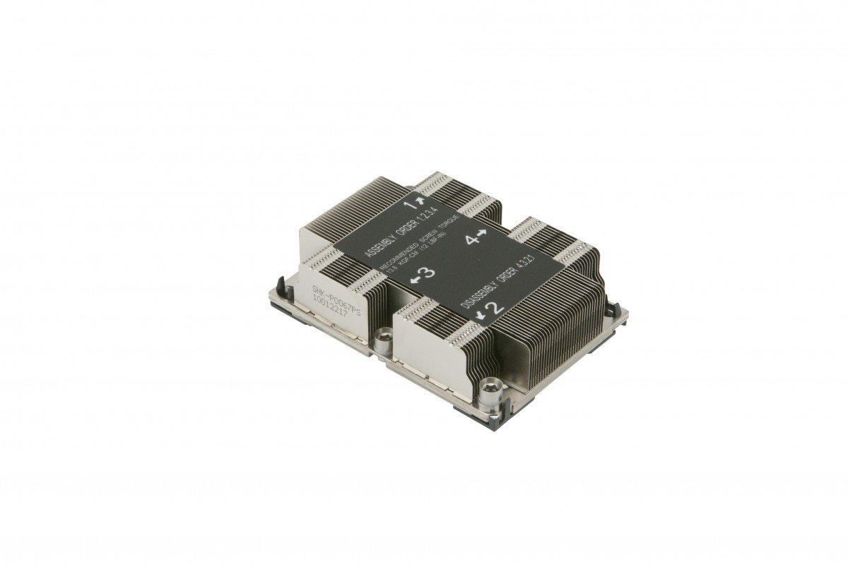 Supermicro SNK-P0067PS LGA 3647-0 1U X11 Purley Platform CPU Heat Sink by Supermicro