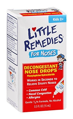 (Little Noses Decongestant Nose Drops 0.5 OZ - Buy Packs and SAVE (Pack of 3))