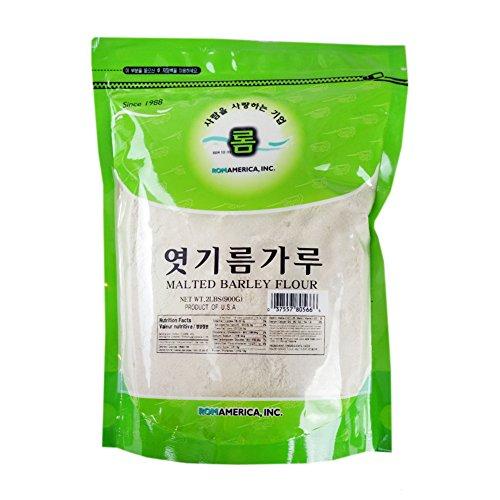 - ROM AMERICA [ 2lb ] Malted Barley Flour Malt Powder Diastatic 엿기름 가루