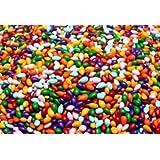 Sunbursts - Rainbow Colored Chocolate Covered Sunflower Seeds - 1/2 Pound