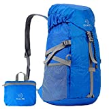 OuterEQ 30L Outdoor Travel Backpack Hiking Foldable Daypack Blue