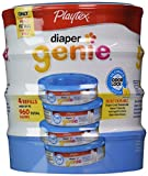 Best Playtex Baby Diaper Bags - Playtex Diaper Genie Disposal System Refills, 4 Count Review