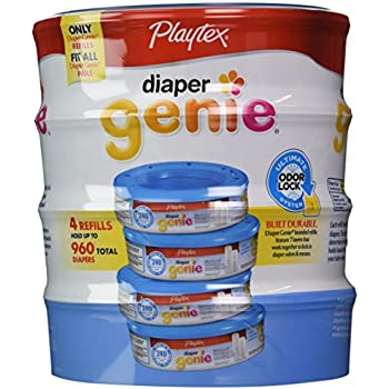 Amazon.com: Playtex Diaper Genie Disposal System Refills