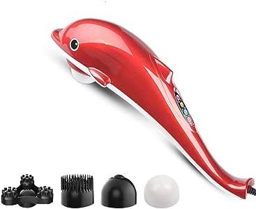 Masajeador de vibración infrarrojo Dolphin portátil