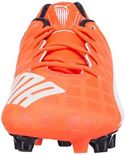 Puma Evospeed 5.4 FG Unisex-Kinder Fußballschuhe Orange (lava blast-white-total eclipse 01)
