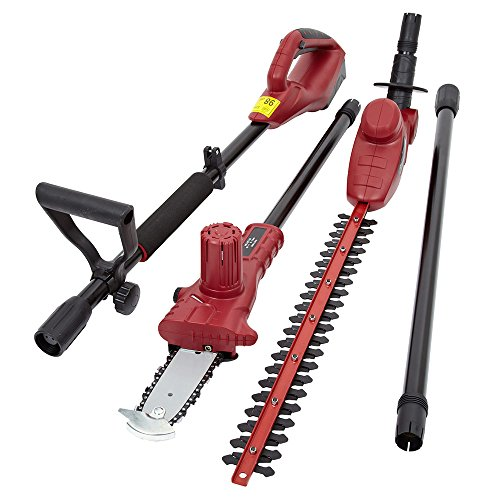 Trueshopping 3 In 1 Chainsaw Hedge Trimmer Extension Pole Garden Multi Tool...
