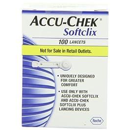 Accu-Chek Soft Clix Lancets, 100 Count