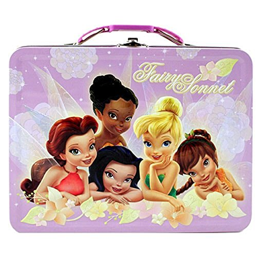 Tinkerbell Square Carry All Tin Stationery Lunchbox (Chosen (Stationery Tin)
