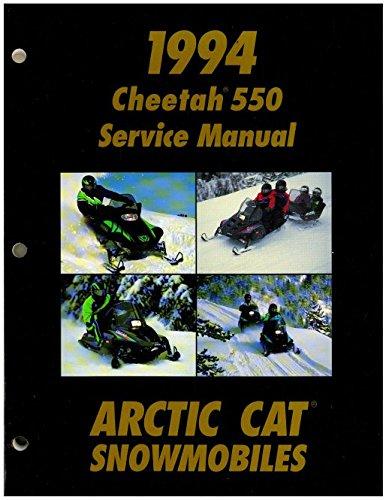 2255-002 1994 Arctic Cat Cheetah 550 Snowmobile Service Manual ebook