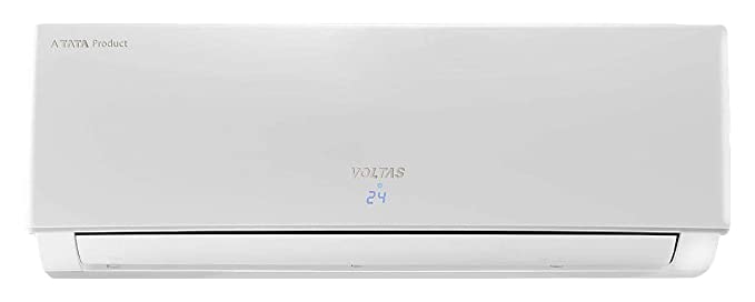 Voltas 1 Ton 3 Star Inverter split AC (Copper, 123VEY, White)