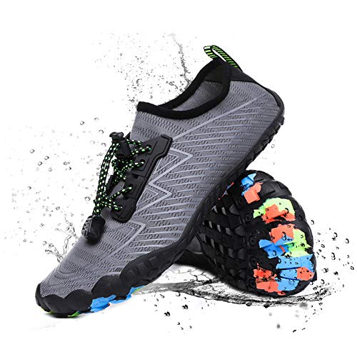 Water Shoes for Women Men Barefoot Quick-Dry Five Toes Sports Pool Walking Beach Aqua Shoes
