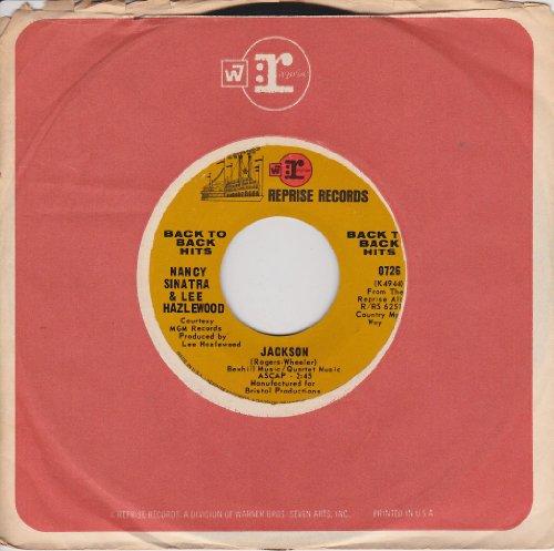 Nancy Sinatra & Lee Hazlewood: Jackson B/w Summer Wine