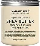 Majestic Pure Shea Butter, Organic Vi...