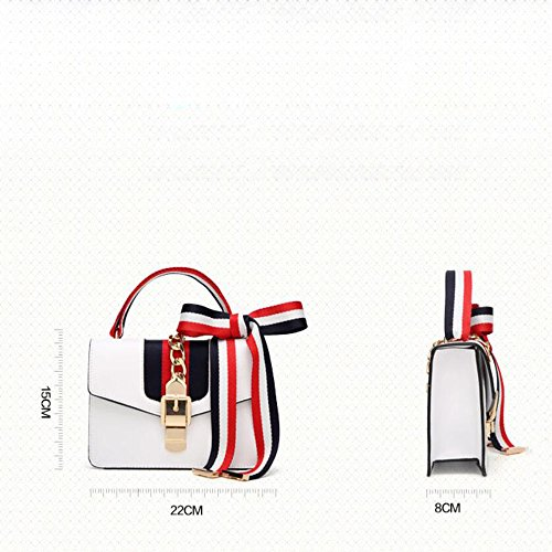 Bags Casual Black Party Contrast Creative PU Satin Europe Women's America Chains Bags Small Messenger Bags Bags Bags Fashion Bags Ribbons Bags Bags Shoulders SwBxtI