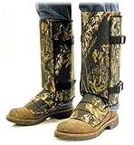 Crackshot Men's Snake Guardz Socks, Camo, Large