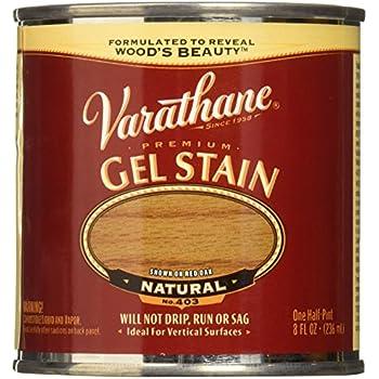 Varathane 224494 Premium Gel Stain, Half Pint, Natural
