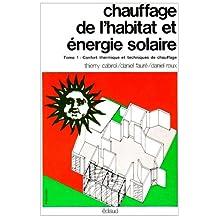 Chauffage de l'habitat et énergie solaire