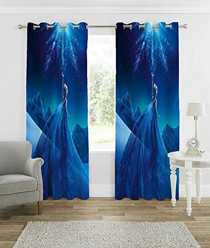 Buy Homecrust 3d Curtain Elegant Cute Jasmine 4 X 5 Feet 1pcs