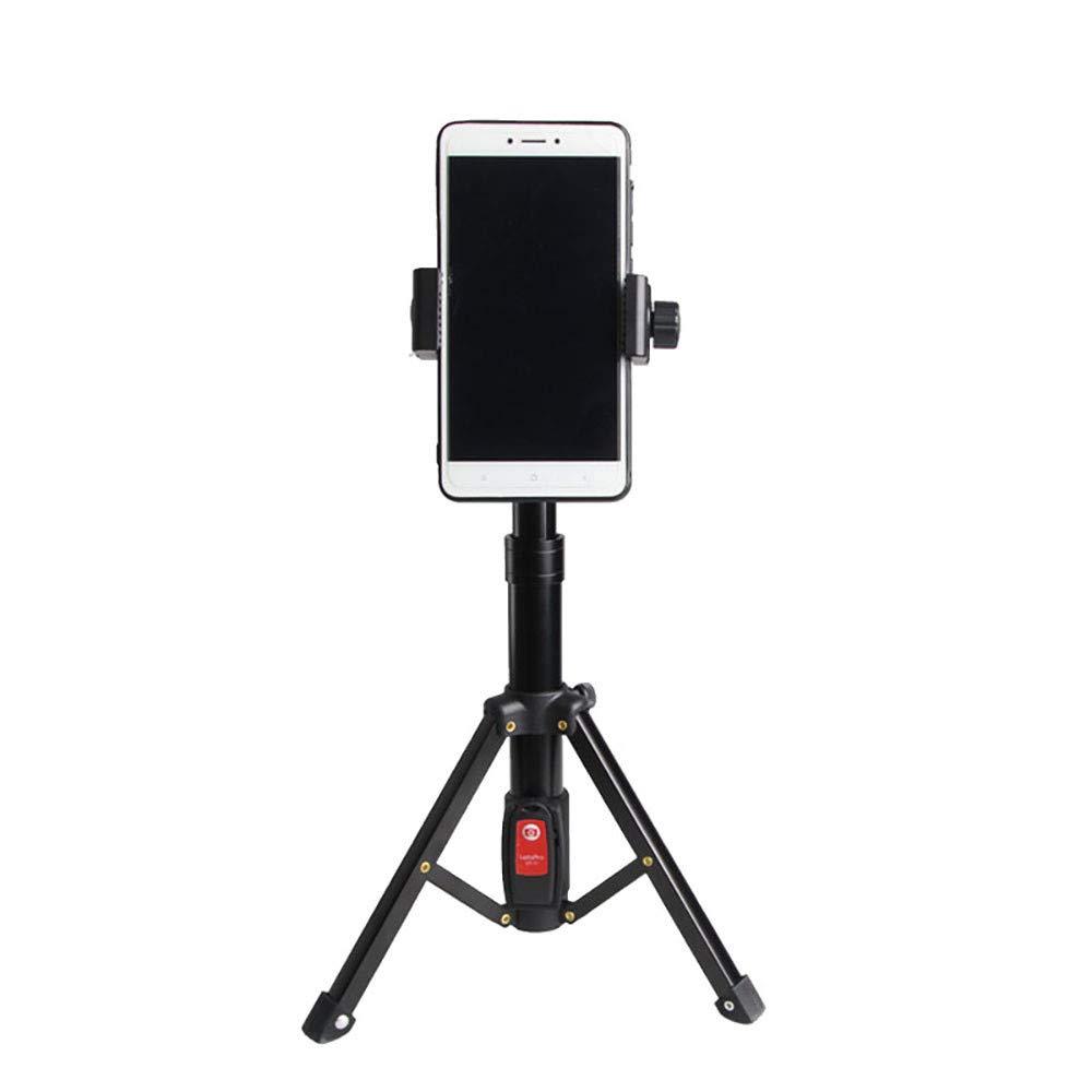 ☀ Dergo ☀ LetsPro Tripod Macro Photography Bracket SLR Camera Mobile Phone Mini Tripod Black