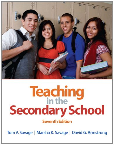 132101521 - Teaching in the Secondary School (7th Edition)
