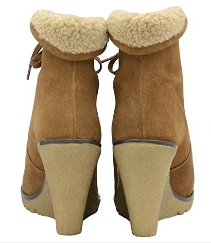 7 Suede UK Heeled Troy Ravel Chestnut Boot 6C8YY
