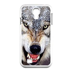 Durable Material Phone Case With Wolf Image On The Back For Samsung Galaxy S4