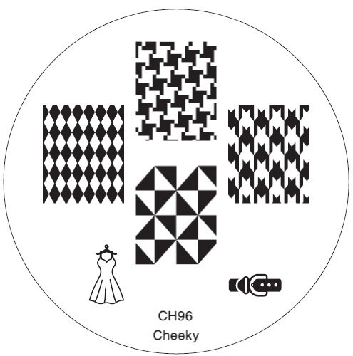 GA1 Professional Nail Art Salon Quality Stamp Template / Stamping Stencil / Image Plate With New Designs By VAGA