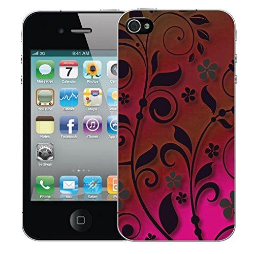 Mobile Case Mate iPhone 5s clip on Dur Coque couverture case cover Pare-chocs - shabby chic Motif avec Stylet