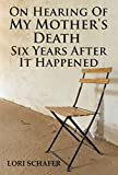 Bargain eBook - On Hearing of My Mother s Death