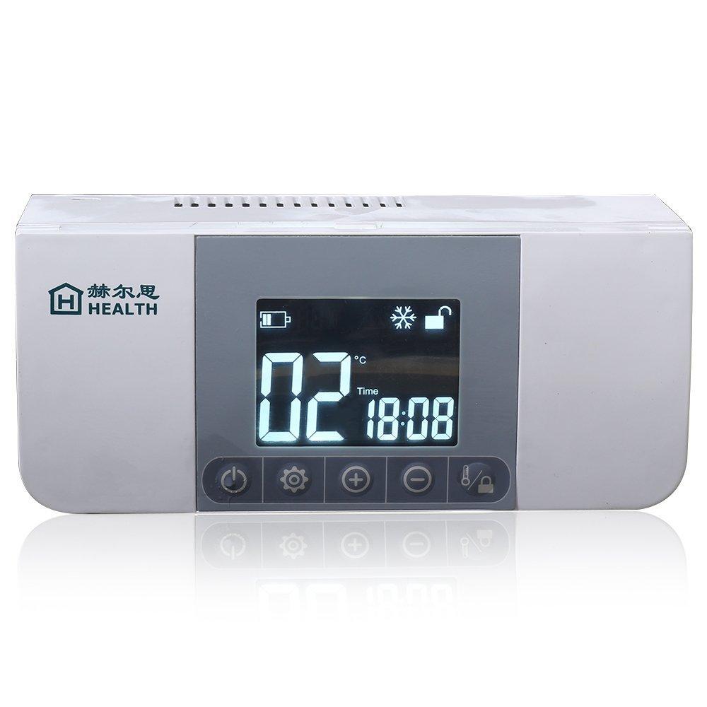 Mini refrigerador, insulina portátil caso del recorrido Caja del refrigerador, caja de almacenaje de la insulina, la diabetes mini refrigerador, pantalla LCD de carga 2-8 ° C Express Panda