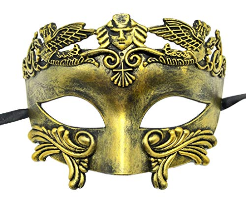 Mens Masquerade Mask Vintage Greek Roman Mask Venetian