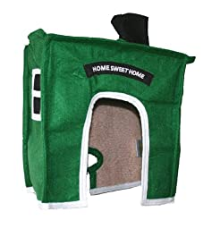 Avian Haven Hut for Birds, Extra Small, Green