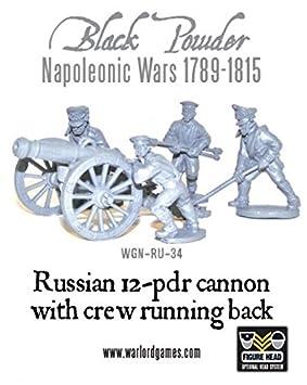 Black Powder, Napoleonic Wars, Russian 12 pdr cannon (1809-1815
