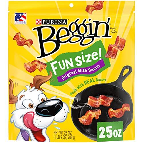 Purina Beggin' Fun Size Bacon Flavor Adult Dog Treats