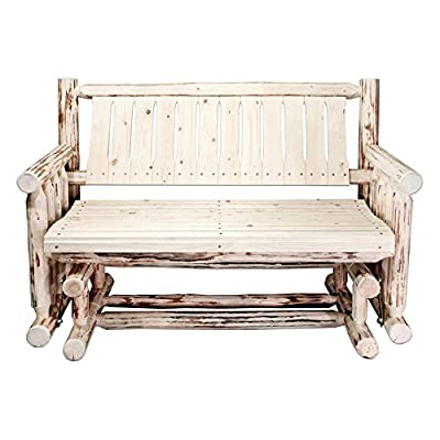 Montana Woodworks Outdoor Glider Loveseat
