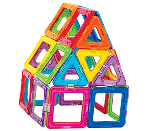 Magformers Basic Set (30 pieces) magnetic building blocks, educational magnetic tiles, magnetic building STEM toy - 63076
