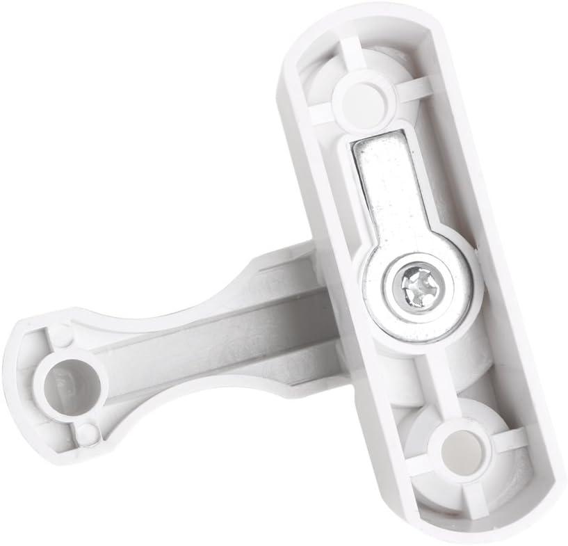 con manija de Bloqueo de Seguridad Extra de PVC UPVC Color Blanco BouT Cerradura de Seguridad para Puerta o Ventana Cierre de Seguridad para ni/ños