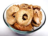 Organic Dried Apple Rings, 16 oz bag. Unsweetened & Unsulfured