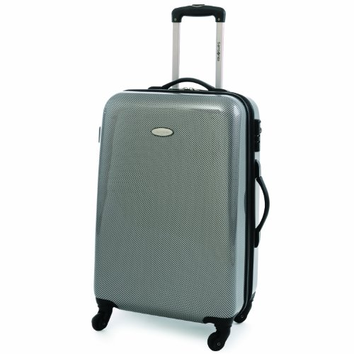 Samsonite Winfield Fashion 28 Inch Spinner Luggage, Check Black/Silver, One Size, Bags Central